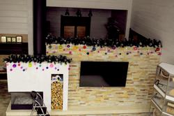Новогоднее оформление гостиной