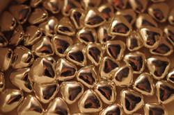 Шоколадные конфеты в форме сердца