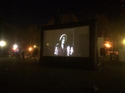 Кино на площади