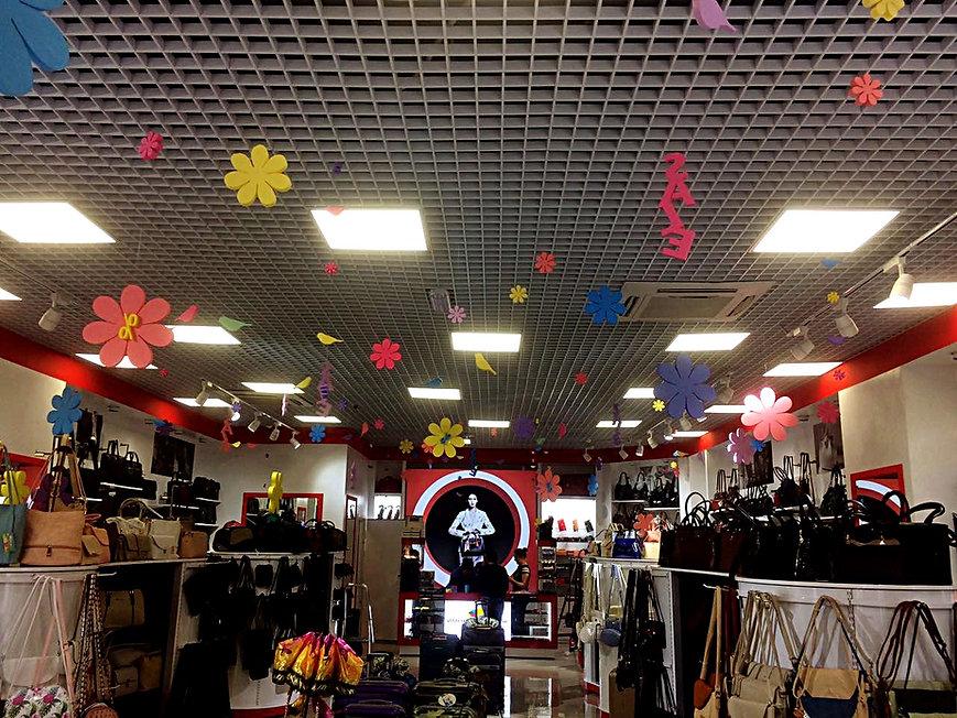 Оформление магазина в Сочи