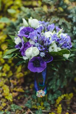 Сине-фиолетовый букет