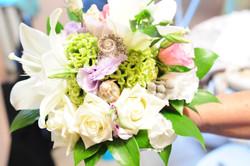 Детали букета невесты