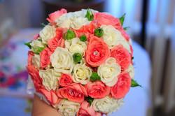 букет-шар из роз