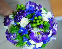 Сине-зеленый букет
