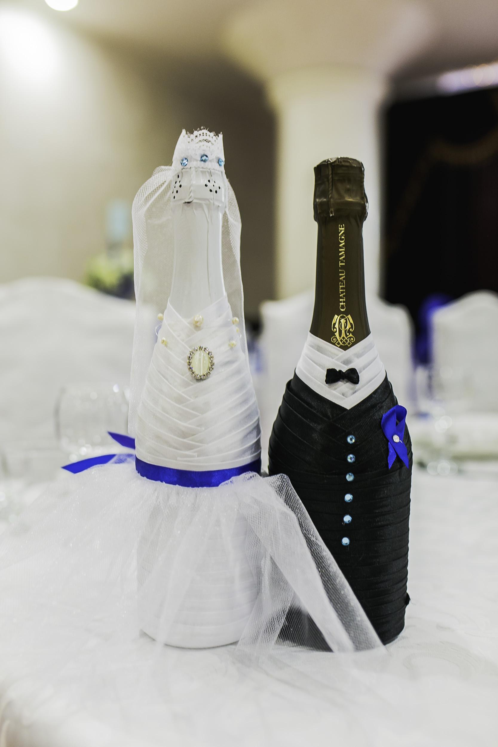 Бутылки _Жених и невеста_