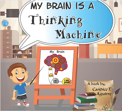 My Brain is a Thinking Machine Cover Ima