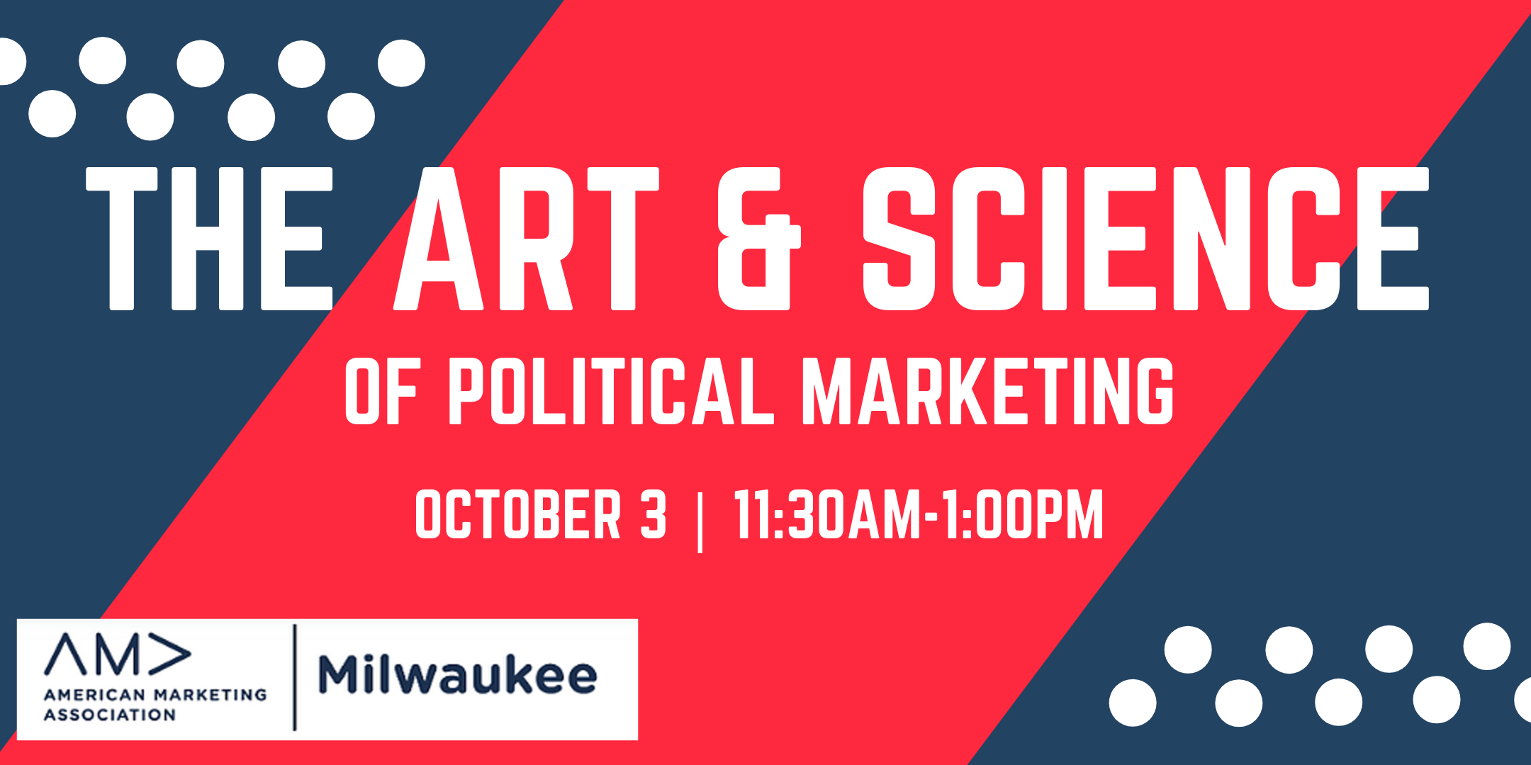 10/3 Political Marketing Event