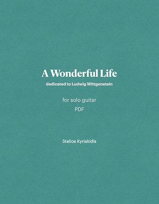 A Wonderful Life PDF