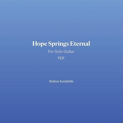 Hope Springs Eternal PDF