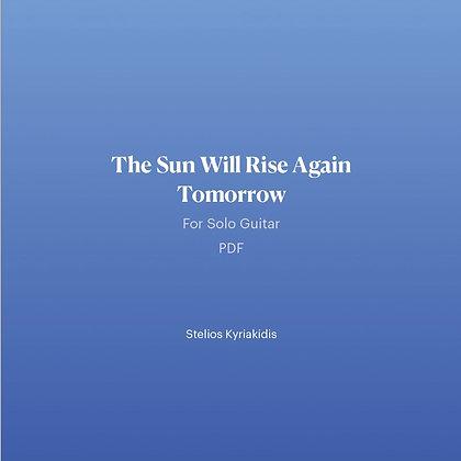 The Sun Will Rise Again Tomorrow PDF
