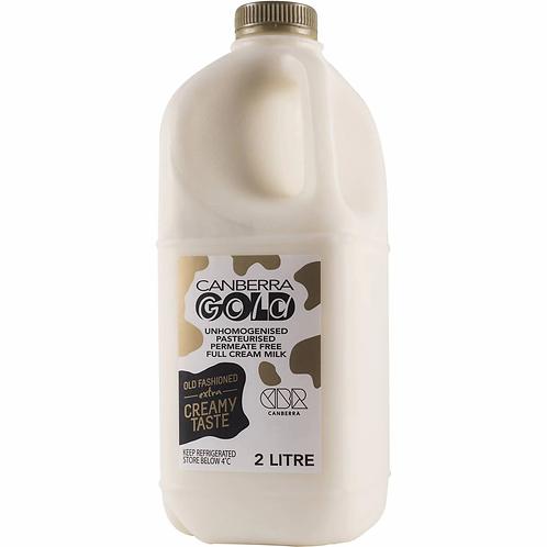 Canberra Gold 2L Milk