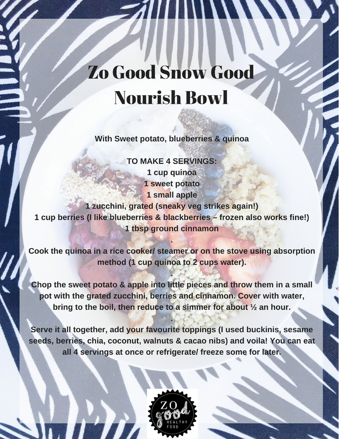 Nourishing Winter Bowl