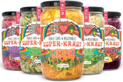 Peace Love and Vegetables - Superkraut