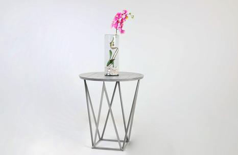 Mesa lateral sol - silver