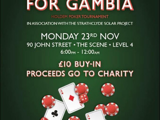 Gamble for Gambia Charity Poker Tournament