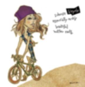 NOCA /  bicyle illustration