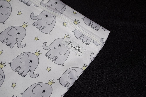 Elephant Prince Mini Wet Bag
