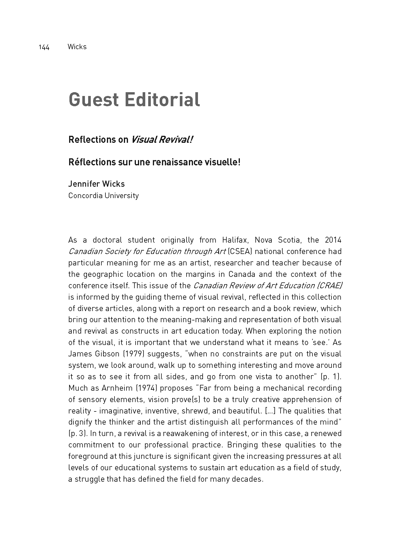 Guest Editorial