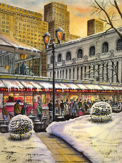 Christmas Market at Bryant Park, NYC