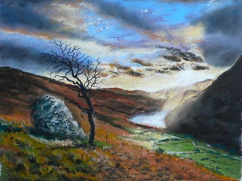 Nant Gwynant, North Wales Pastel