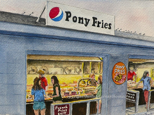 Pony Fries at the carnival