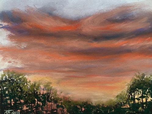 Sunset on Assateague