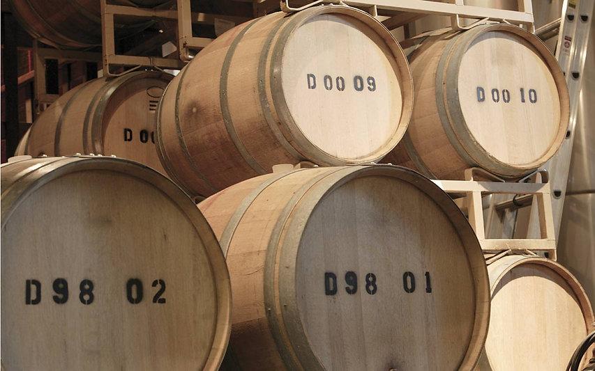 Sonoma Wine Barrel Room