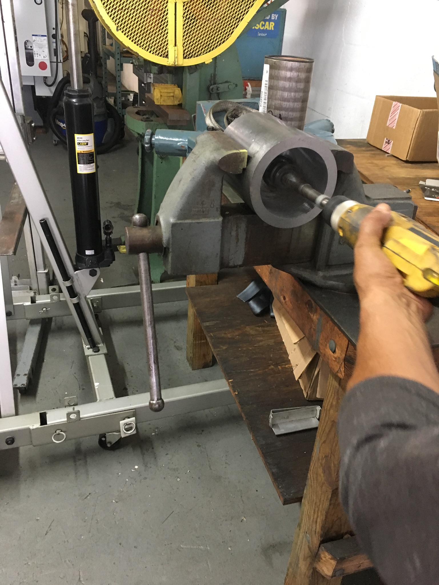 Boring Pipe |  AGA Machine Shop