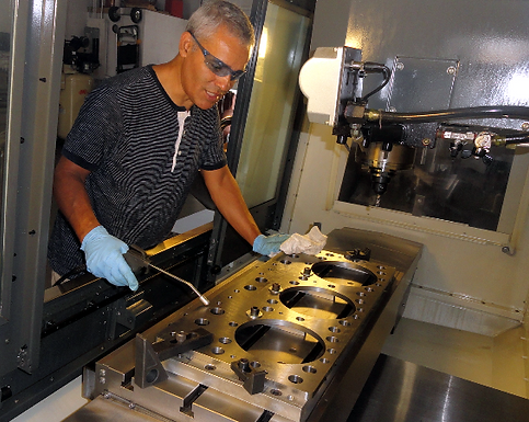 Fort Lauderdale Machine Shop specializing in marine machining, ferrous and non-ferrous metals. AGA Machine Shop is located in Broward County.