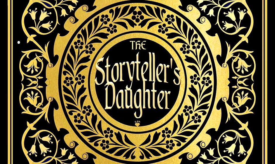 Signed copy of The Storyteller's Daughter