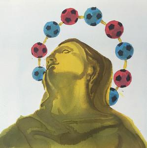 Illustrazione per il derby milanese apparsa sul il Foglio Sportivo