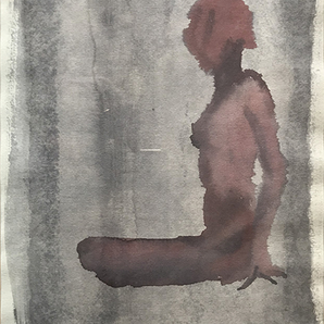 Nudo di donna seduta