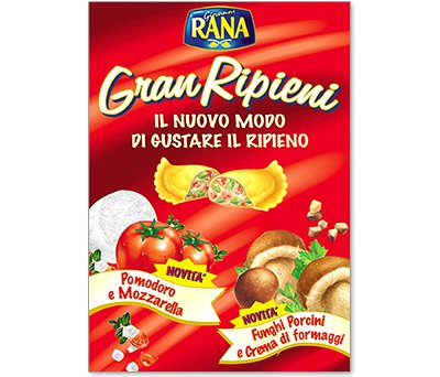 packaging giovanni rana