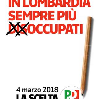 Campagna PD Elezioni Regionali Lombardia