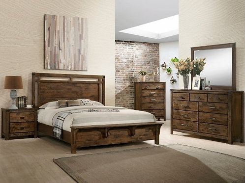 CURTIS PANEL BED GROUP