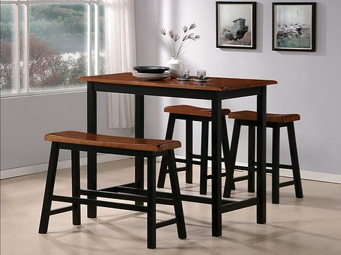 TYLER 4-PC COUNTER HEIGHT TABLE SET