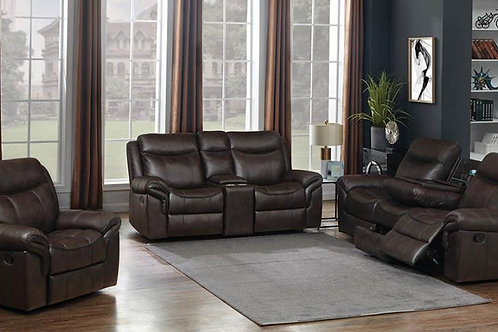 Sawyer Pillow Top Arm Motion Sofa Cocoa