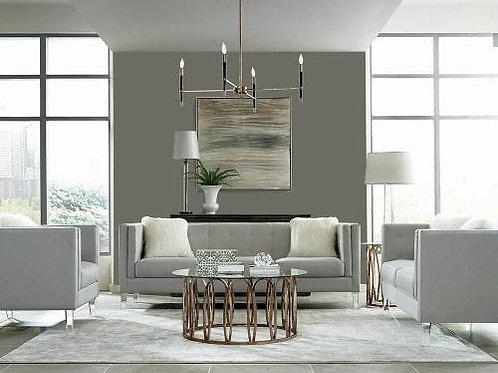Hemet Tufted Upholstered Sofa Light Grey