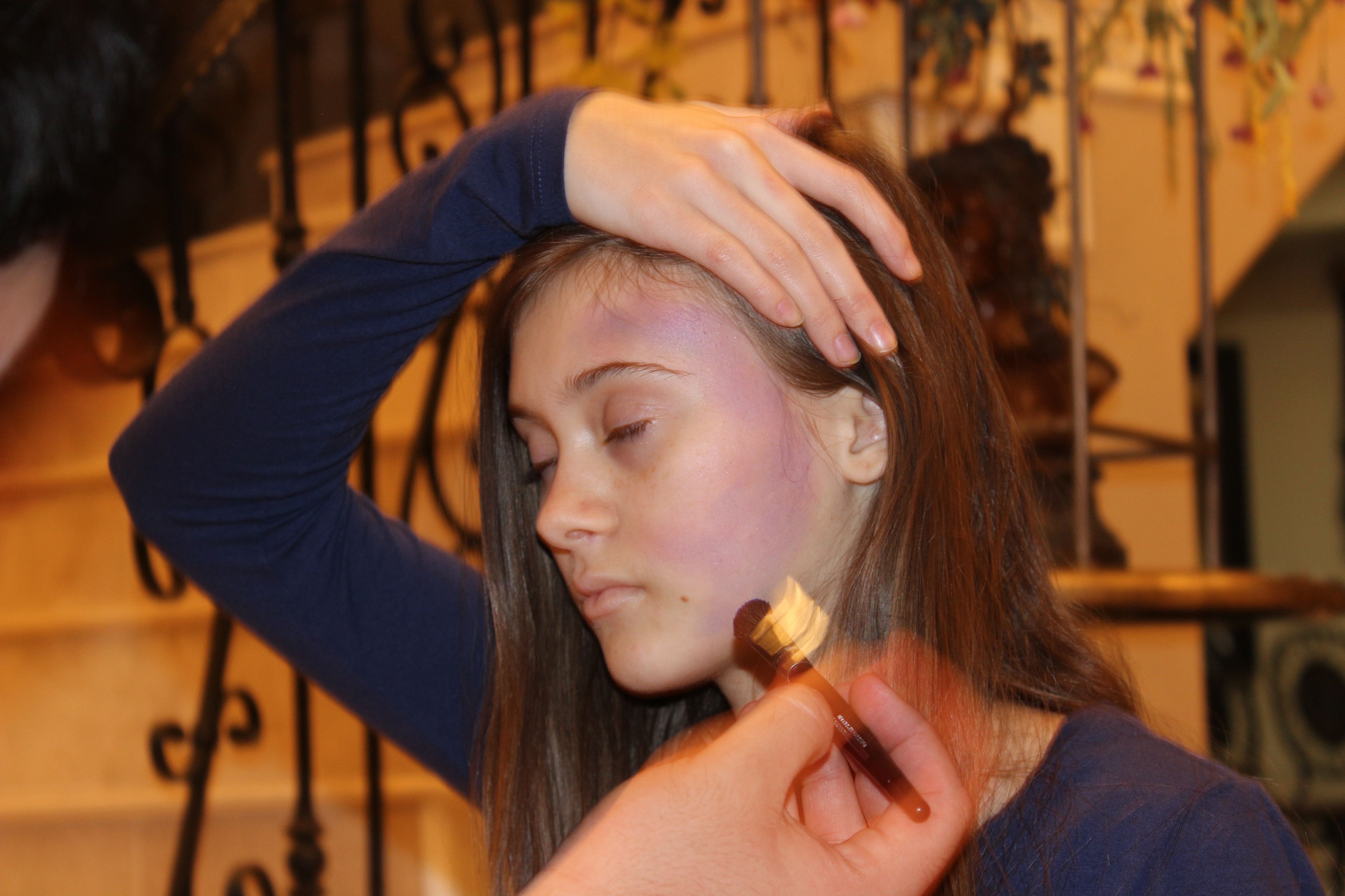 Jacey on Make Up.JPG