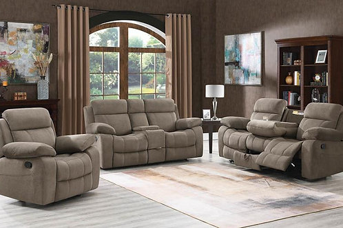 Jupiter 3-Piece Power^2 Living Room Set Charcoal
