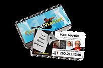 Tom's GrandMaster Business Card