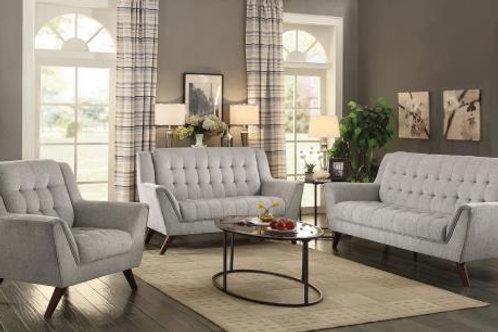 Natalia Upholstered Sofa Dove Grey