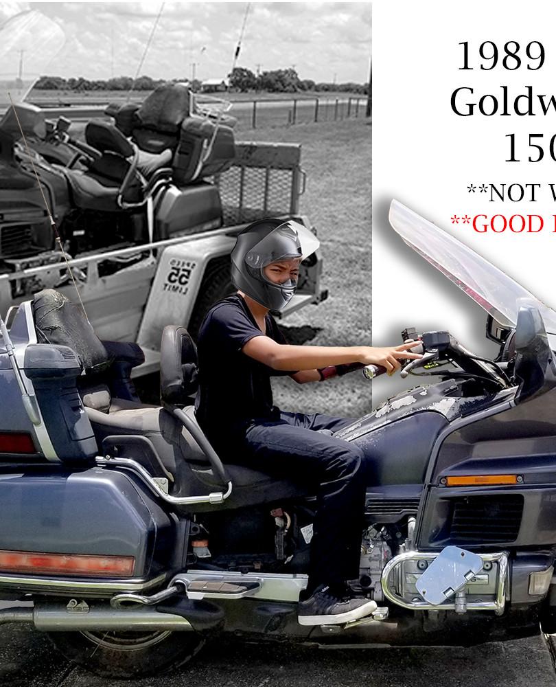 1989 Honda Goldwing GL 1500cc