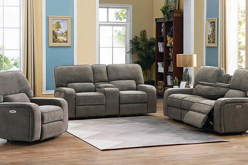 Dundee 3-Piece Power^2 Living Room Set Beige