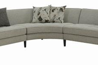 Pearshall Tufted Upholstered Sectional Grey