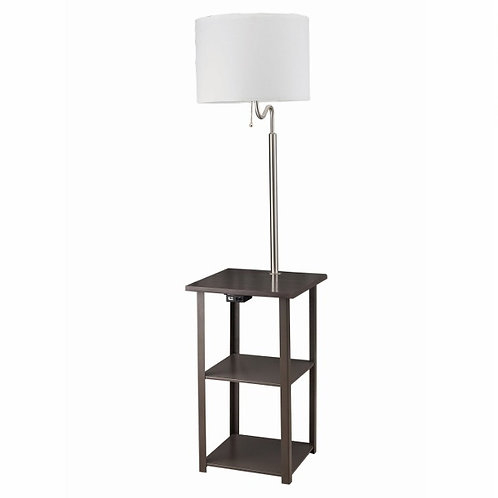 SQUARE TABLE FLOOR LAMP