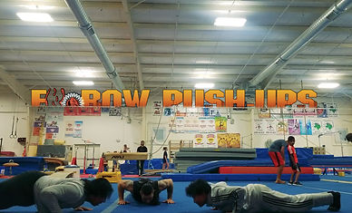 Elbow Push Ups OPEN GYM