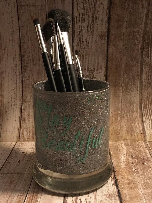 Stay Beautiful makeup brush holder