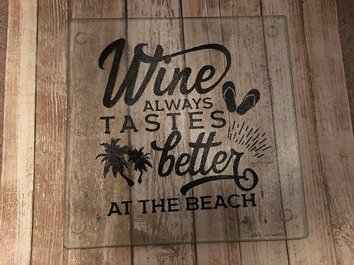 Wine is better at the Beach