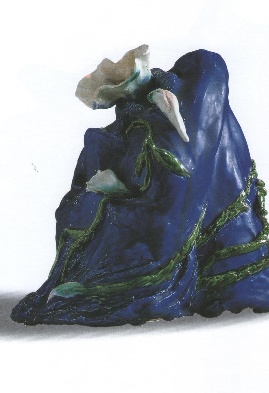 Cabeza azul
